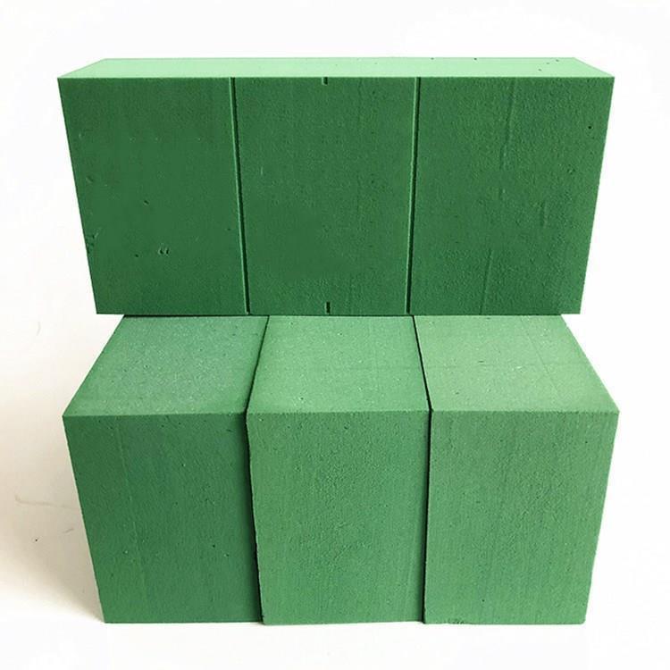 花泥插花手工吸水泥单块底座包装其他海绵免邮泡沫花篮插画泡TH10