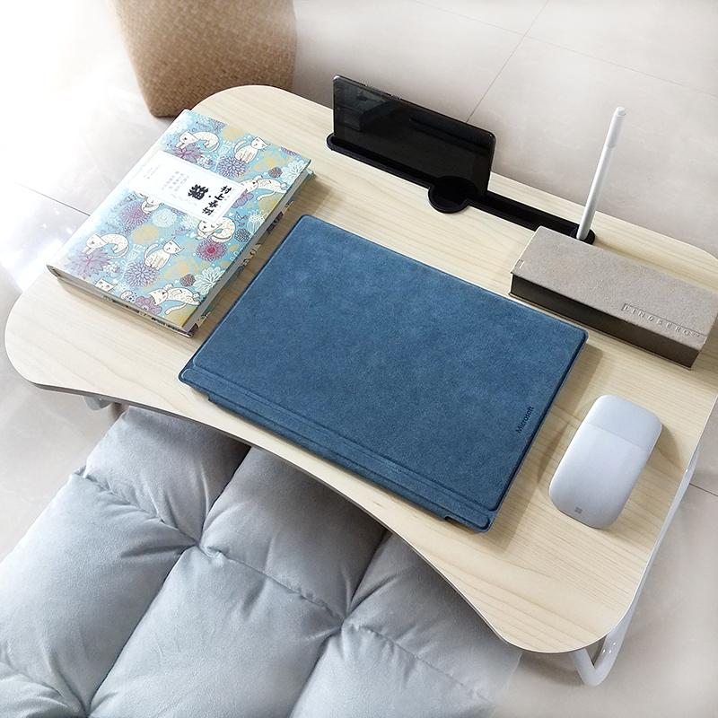 满5元可用5元优惠券壹香树笔记本电脑桌大学生简约宿舍懒人床上用书桌可折叠迷你小桌
