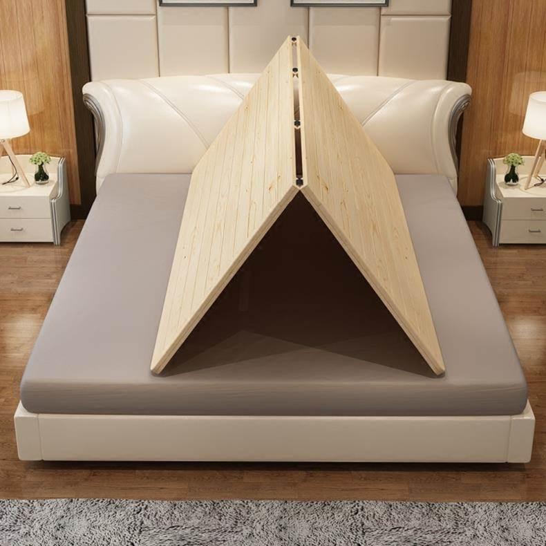 订做加固单人床床板1.5米硬床垫防潮日式护腰隔板双人床家居寝室,可领取元淘宝优惠券