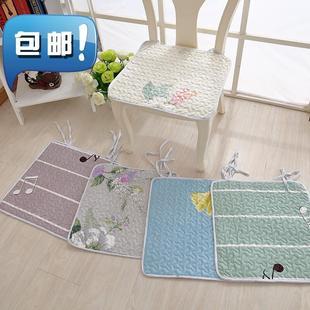钟t爱一生全棉椅垫坐垫椅子垫秋冬季办公室厚学生凳子垫四季座椅