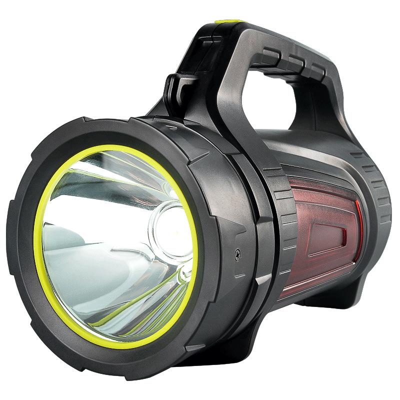 银诺探照灯强光手电筒远射手电筒氙气可充电式超亮家用户外手提灯