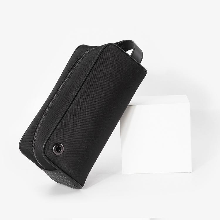 洗漱包2020新款网红旅行收纳包大容量便携出差商务男士真皮手拿包