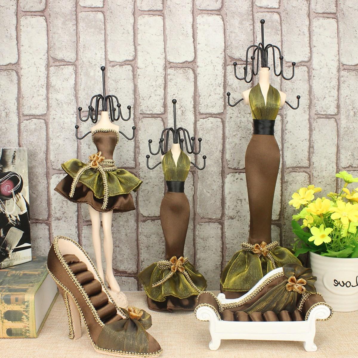 包邮首饰架展示架创意架耳环饰品高跟鞋挂模特架沙发戒指公主项链