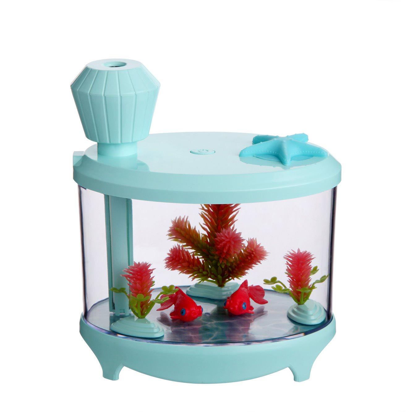 [u[2200634662683]加湿器]新款鱼缸加湿器 迷你b小夜灯加湿器超月销量0件仅售122元