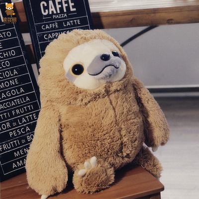 波比熊INS风萌物闪电树懒毛绒玩具公仔创意毛绒玩偶明星gulf同款