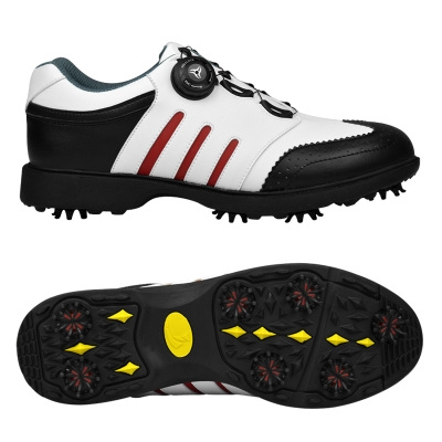 New golf shoes mens movable nail shoes waterproof shoes rotating laces movable nail shoes