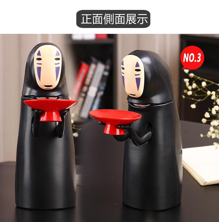 usb充电款千与千寻无脸男储蓄罐10月19日最新优惠