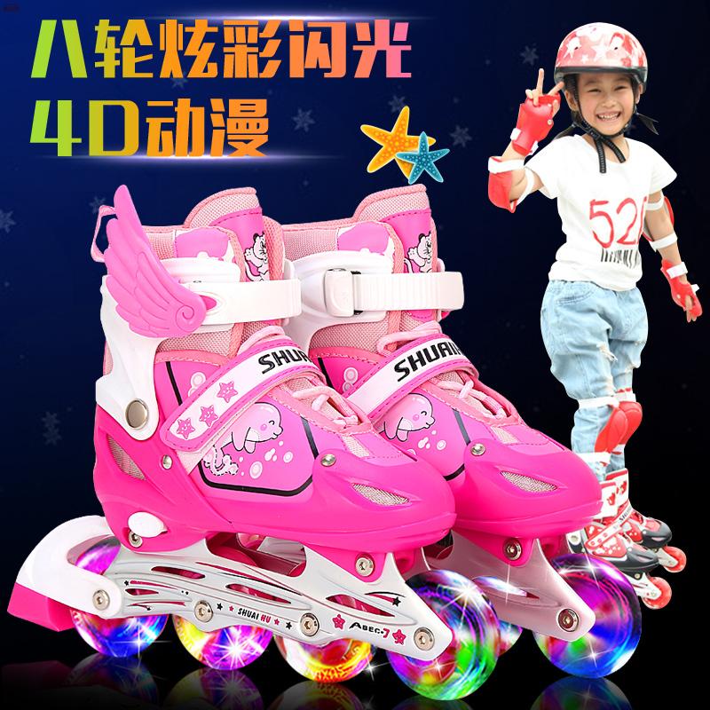 官网米高品牌345671012岁男女童儿童溜冰鞋全套初学者轮滑旱冰鞋