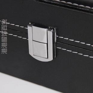 限量双层手表收纳盒PU皮腕表饰品展示盒大容量盒多格眼镜整理箱首图片