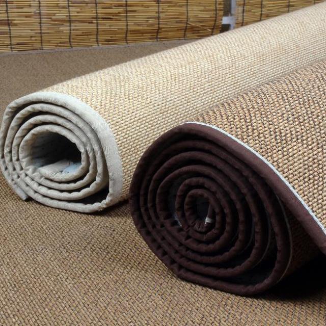 地铺垫地板垫阳台家用竹编地毯榻榻米飘窗装饰满铺沙发垫塌塌米有赠品