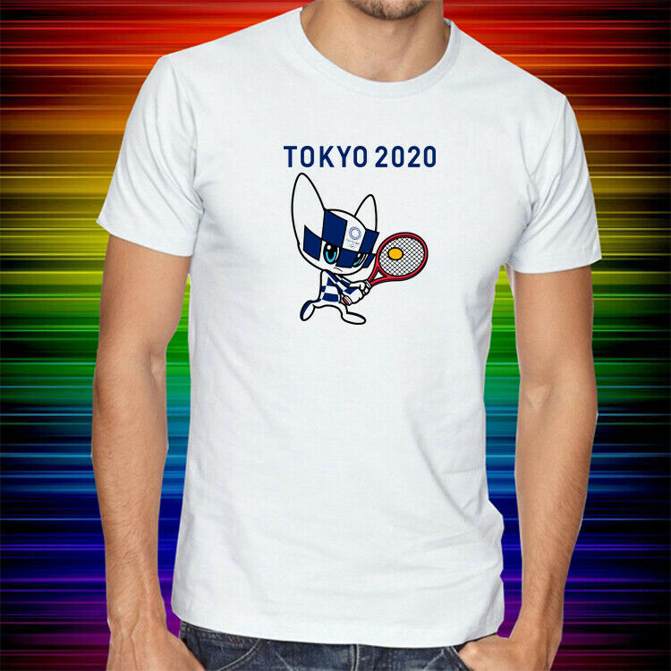 Tokyo 2020 Olympics 2020 Tokyo Olympic mens and womens short sleeve T-shirt summer trend