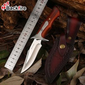 防身D2钢刀户外小刀锋利随身便捷野外求生军刀刀具防身军工刀直刀