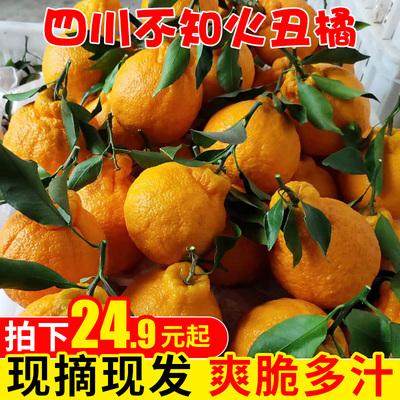 四川丑橘不知火丑柑丑哭橘丑八怪特大当季新鲜水果整箱包邮5/8斤