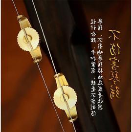 纯铜二胡微调一对不伤弦新型专业微调调音二胡千斤新式乐器配件图片