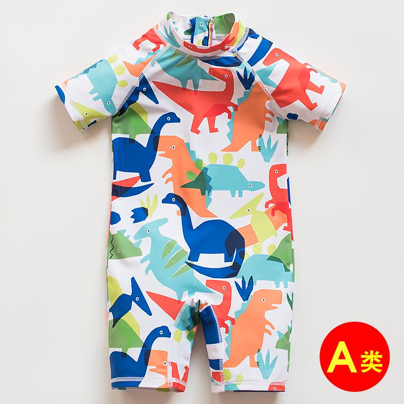 11月03日最新优惠儿童ins男童韩国连体可爱1游泳衣