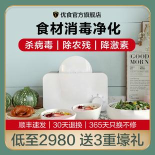 优食洗菜机家用食材净化解毒器肉类水果蔬菜清洗机杀菌除农残I03图片