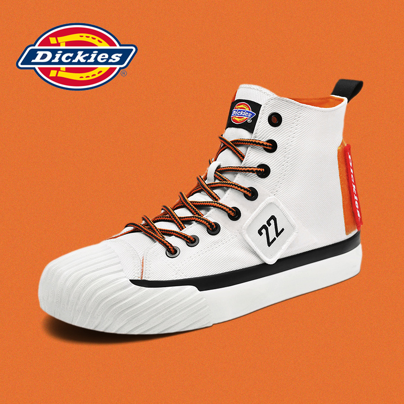 Dickies Dicks Canvas Shoes High Support 2021 Summer New Tide Shoes Hundreds of Casual Male Couple Break