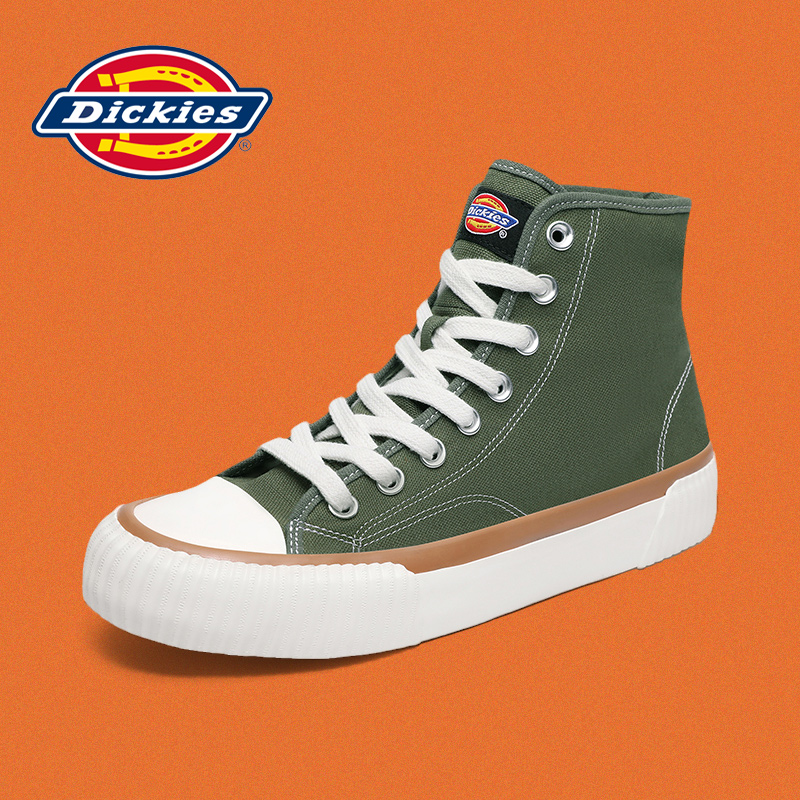 Dickies Dicks canvas shoes female 2021 summer students casual wild trend couple high-top shoes men
