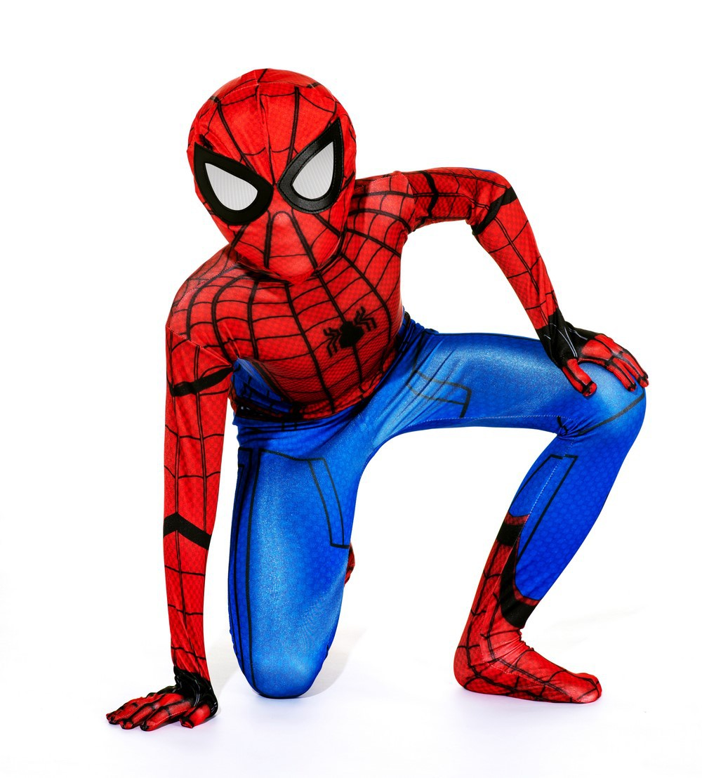 Siamese spider Superman costume stage costume Halloween Costume European and American game uniform role playing children