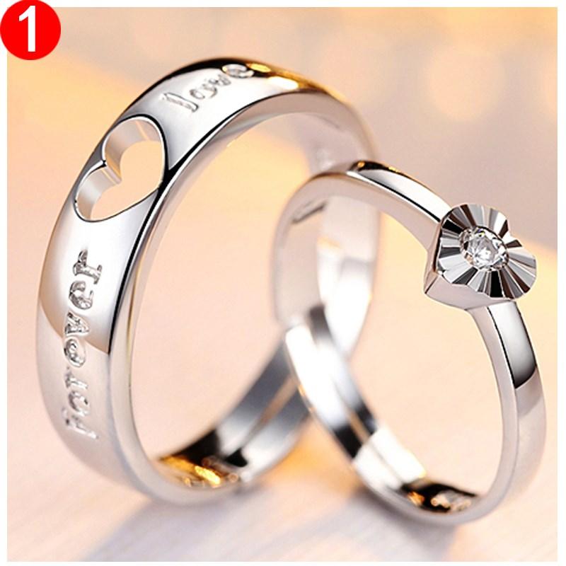 情侣戒指女一对紧箍咒戒指学生男活口结婚戒指日韩版闺蜜戒指女潮