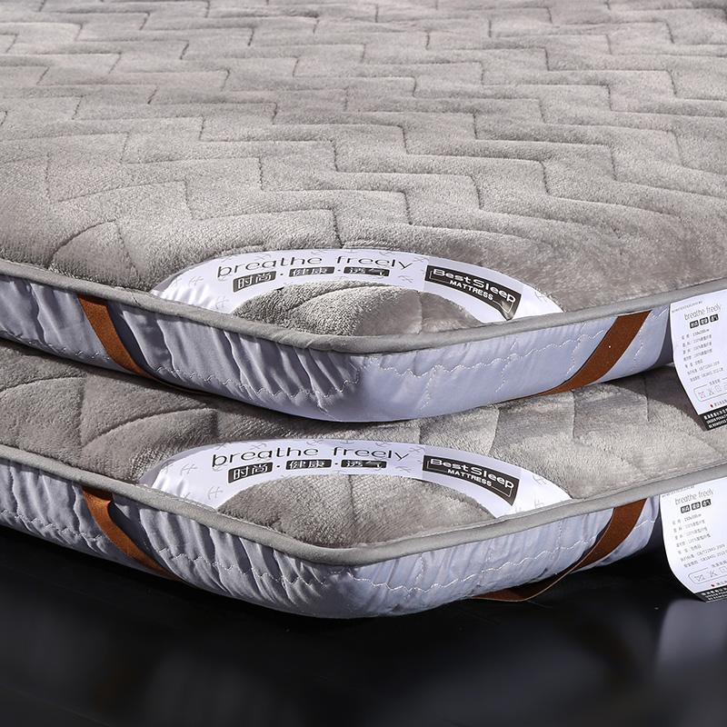 满294.40元可用126.59元优惠券加厚床垫被软垫床褥子1.5米学生宿舍1.8m铺海绵榻榻米单人双人1.2