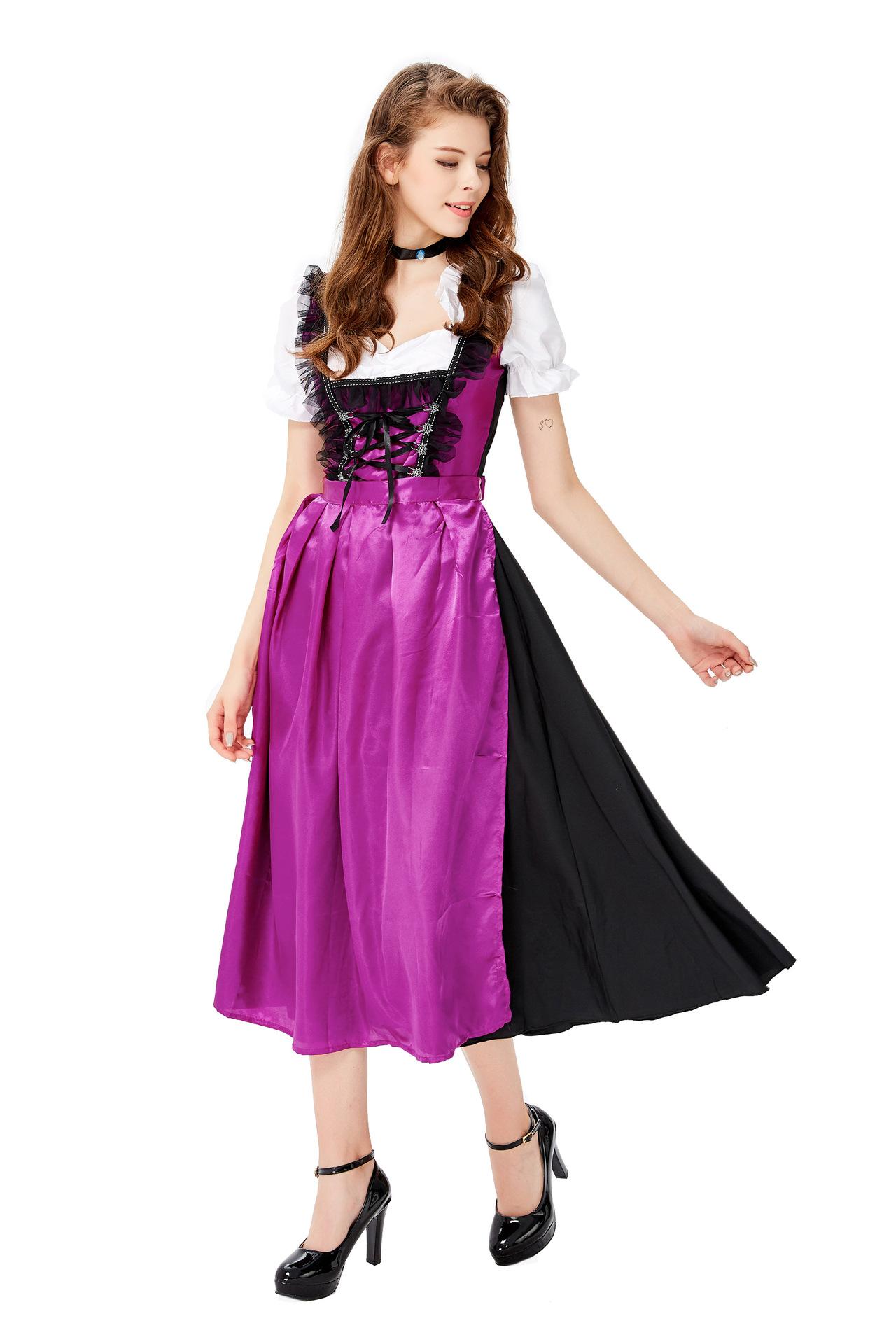 郎舞台服ハロウィンのセクシーなビールの郎の役は服の新型のCosplayビールの女性を演じます。