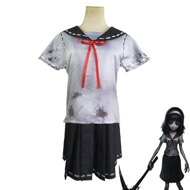 第五人格梦之女巫川上富江信徒制服cosplay万圣节短袖套装cos服