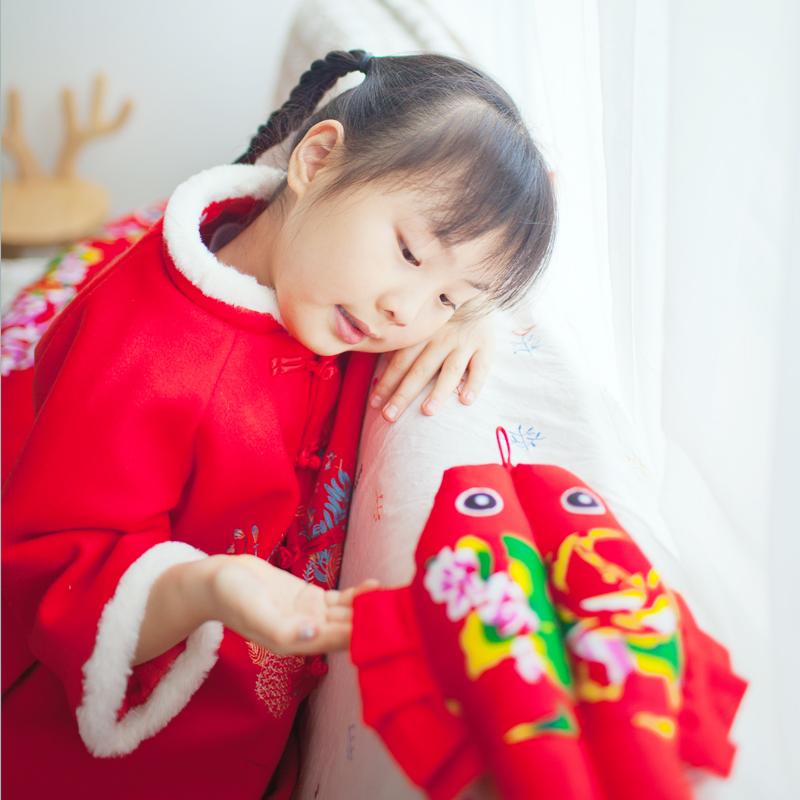 中国结布鱼年年有余婚庆挂件布艺手工艺挂饰中国特色喜庆挂件礼品