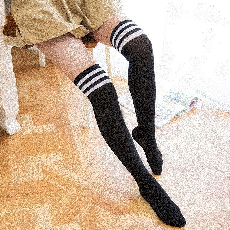 长筒袜女子季薄款儿童白色过膝长袜小女孩公主丝袜宝宝中筒袜