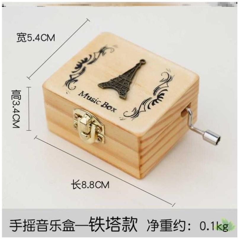 日本男生女童男孩情侣升级创意摆件钢琴八音盒可弹奏音乐盒发条。