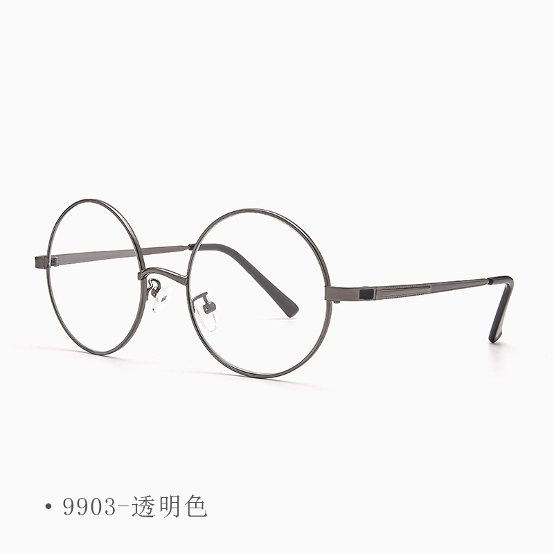 Crystal glasses mens and womens eye protection stone glasses retro round sunglasses sunglasses crystal stone glasses