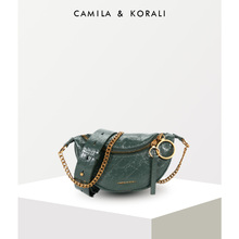 Small ck2019 New Kind of Women's Bag Limited Flagship Store Official Website Single Shoulder Slant Chain Fashion Folded Waist Bag