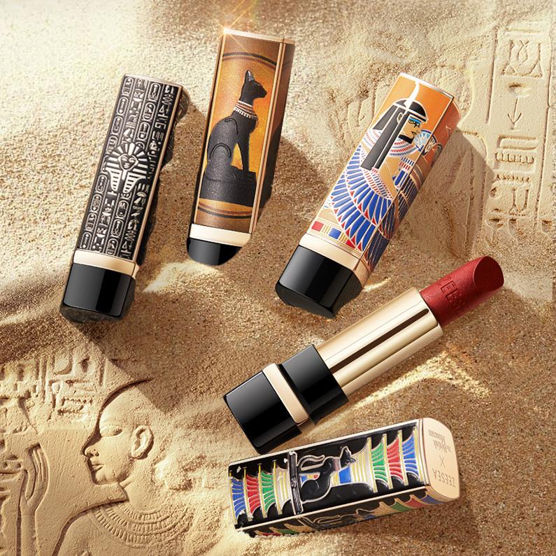 (用1元券)ZEESEA滋色大英博物馆埃及艳后口红小众品牌滋润正品唇膏女学生款