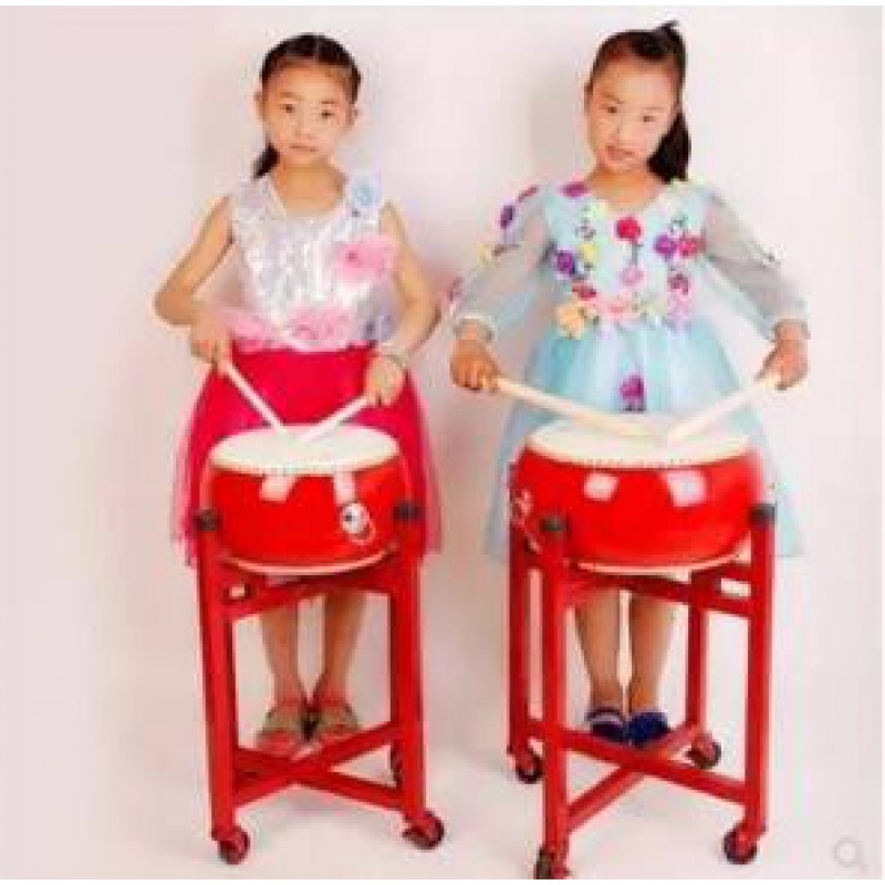 Childrens waist drum childrens kindergarten home percussion teaching drum new type of mens and womens toy drum