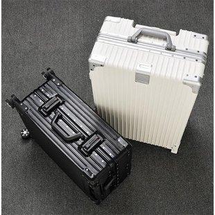 拉杆箱男密码 箱旅行箱包26学生24皮箱20寸28箱子铝框行李箱女