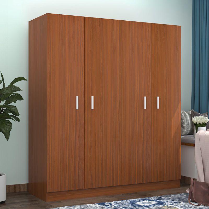 实木质家具卧室柜子双门三门衣柜(用20元券)