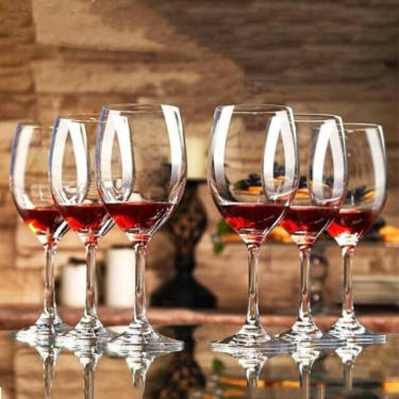 【】红酒杯醒酒器套装无铅玻璃红酒杯高脚杯葡萄酒杯酒具家用