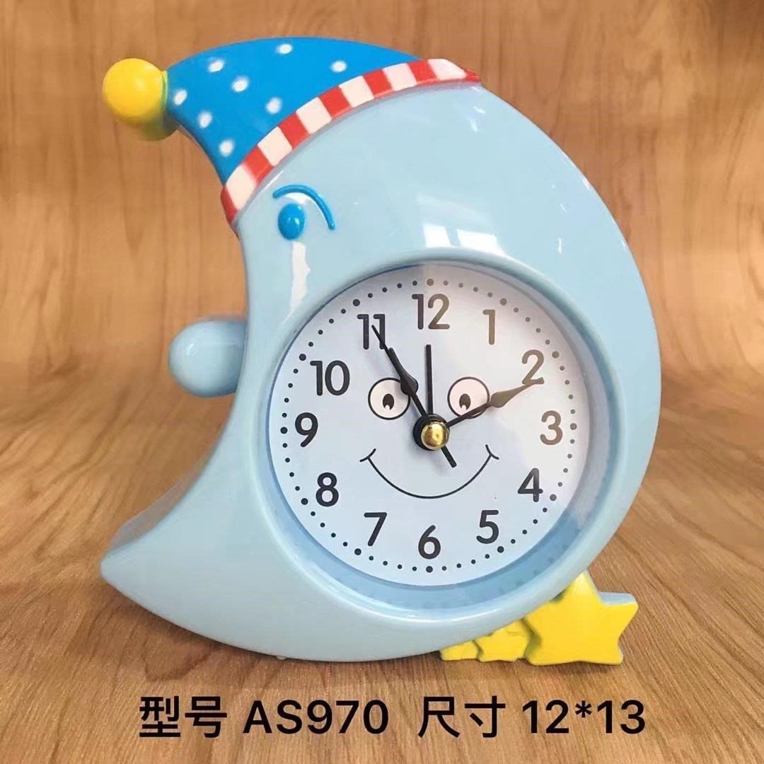 12-12新券男孩小学生男生家用幼儿园卧室闹钟