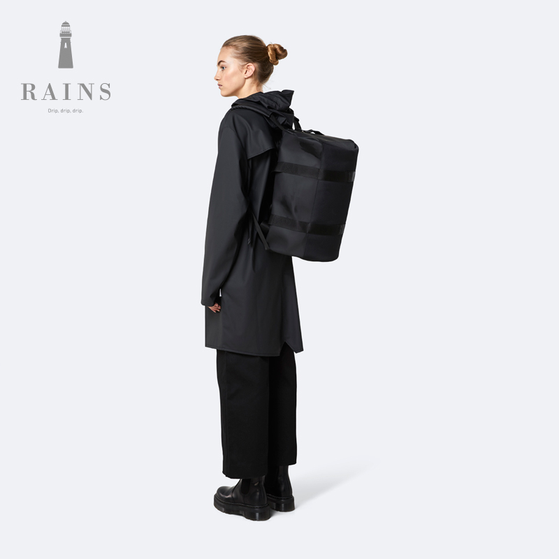 Rains Duffel Bag Small 小号旅行袋经典管状外形防水背包手提包