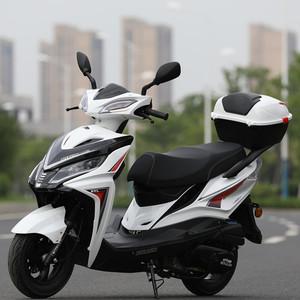 全新2020年新款国四电喷踏板摩托车125CC燃油整车男女通用 可上牌