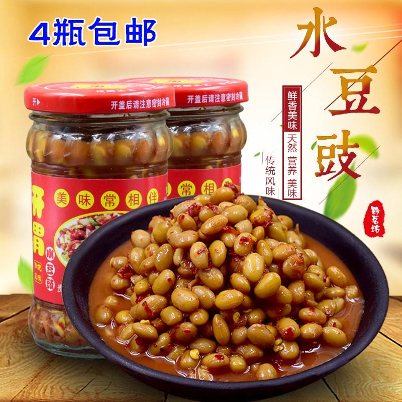 水豆豉 四川特产麻辣贵州豆丝凉拌菜调料豆豉酱