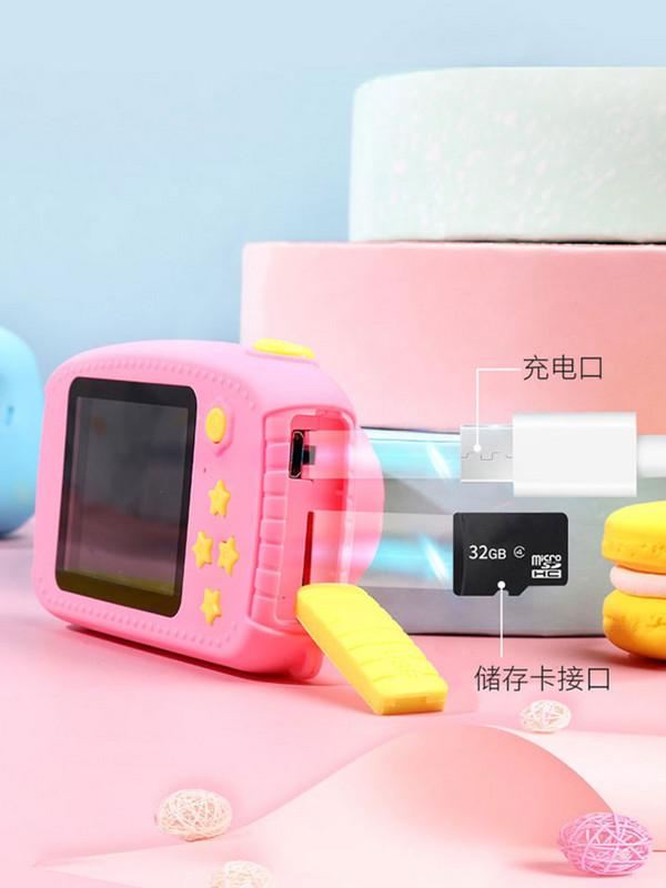 儿童相机可拍照小单反具小学生男女孩入门级数码高清小型照相机玩
