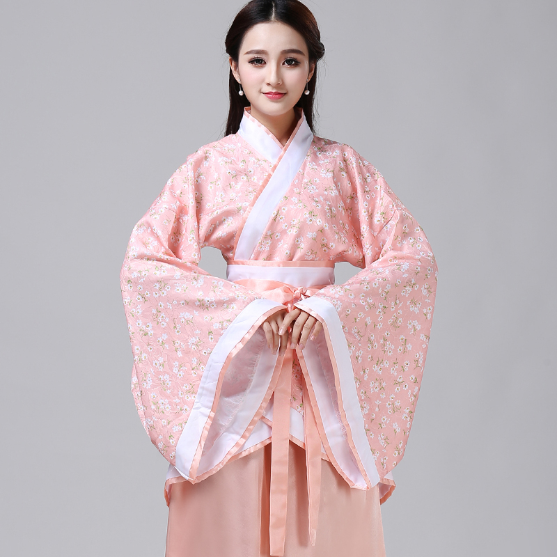 New single product high quality spring and autumn Hanfu Quyuan women's style improved Tangfu women's ancient costume daily