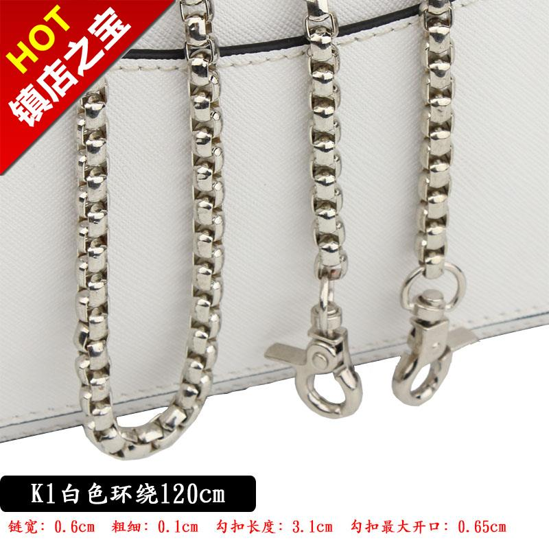 Lantern chain metal chain single buy diagonal strap bag chain with accessories diagonal span gold chain e chain strap long and short hardware