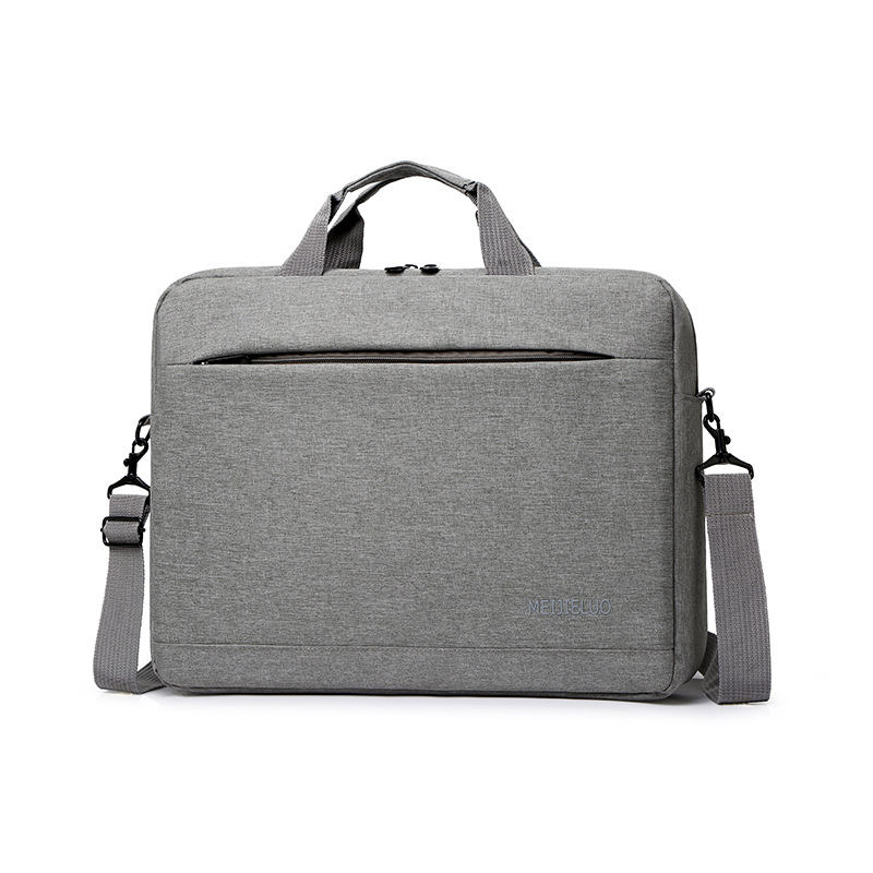 Cross border one shoulder laptop bag public bag mens and womens business notebook handbag 15.6 inch computer bag