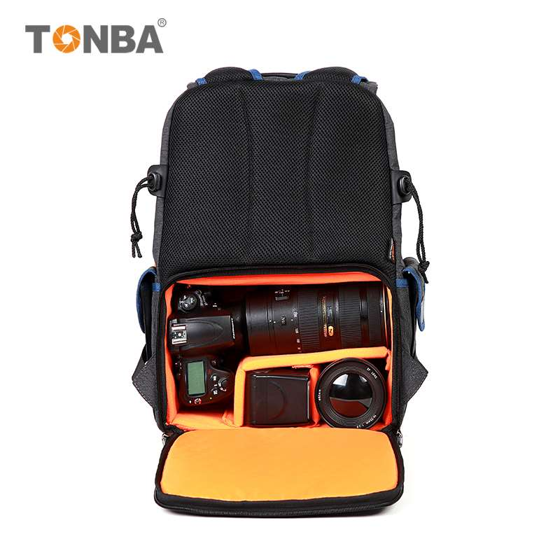 Fashion leisure photography backpack for men and women