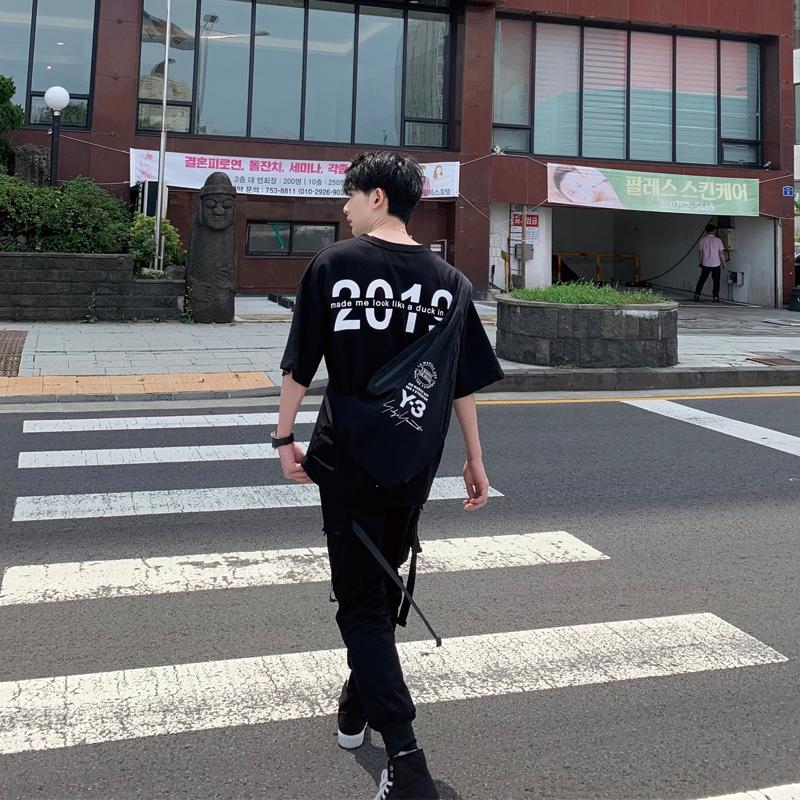 温白开kimsense2019黑色潮牌男t恤热销70件限时2件3折