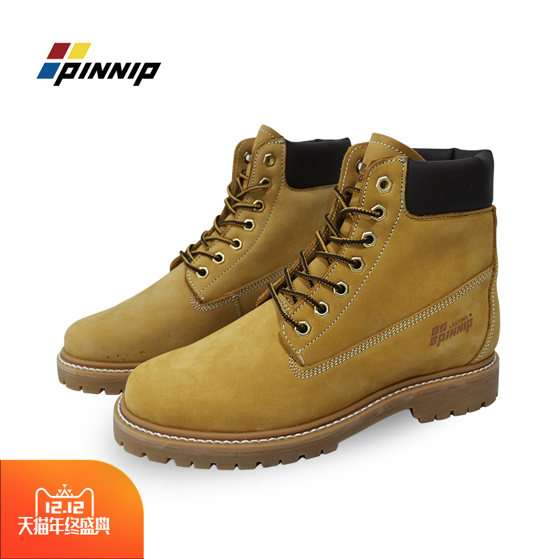 New four seasons Martin boots high top shoes Goodyear waterproof antifreeze mens and womens Chelsea boots cow hide rhubarb boots
