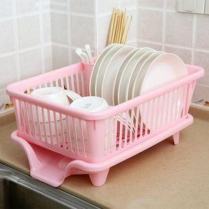 水槽大容量洗碗收纳筐多用碗碟小用品厨房放碗架沥水篮控水架免打