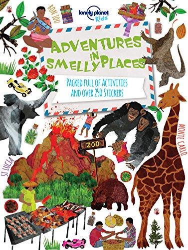 英文原版Adventures in Smelly Places儿童旅游:在臭臭的地方探险